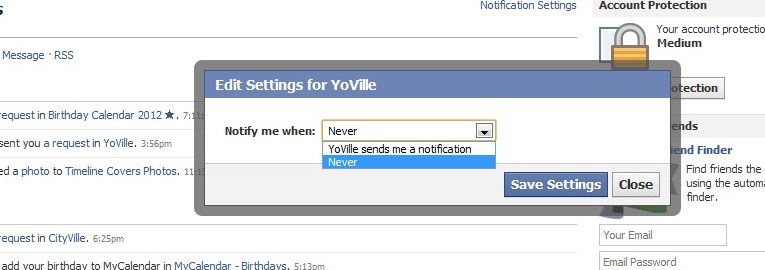 how to stop do you know notifications on facebook