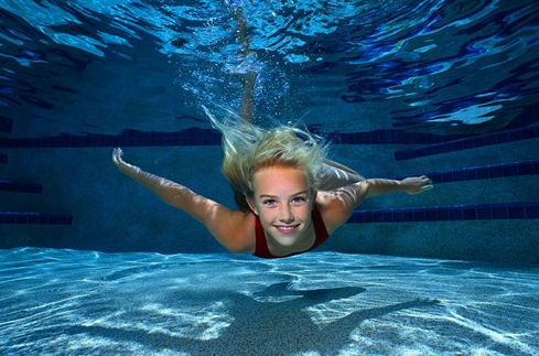 Bơi lội bài tập thể dục giảm cân