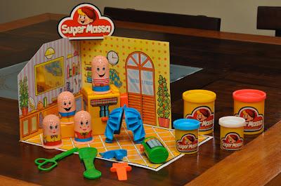 Super Massa: brinquedo da Estrela que explorava a habilidade criativa das crianças.