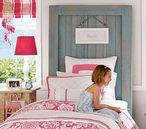 Mamypops cabeceros de cama con ventanas recicladas - Forrar cabeceros de cama ...