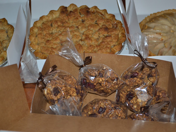 Pumpkin Granola Recipe and Other Bake Sale Goodies