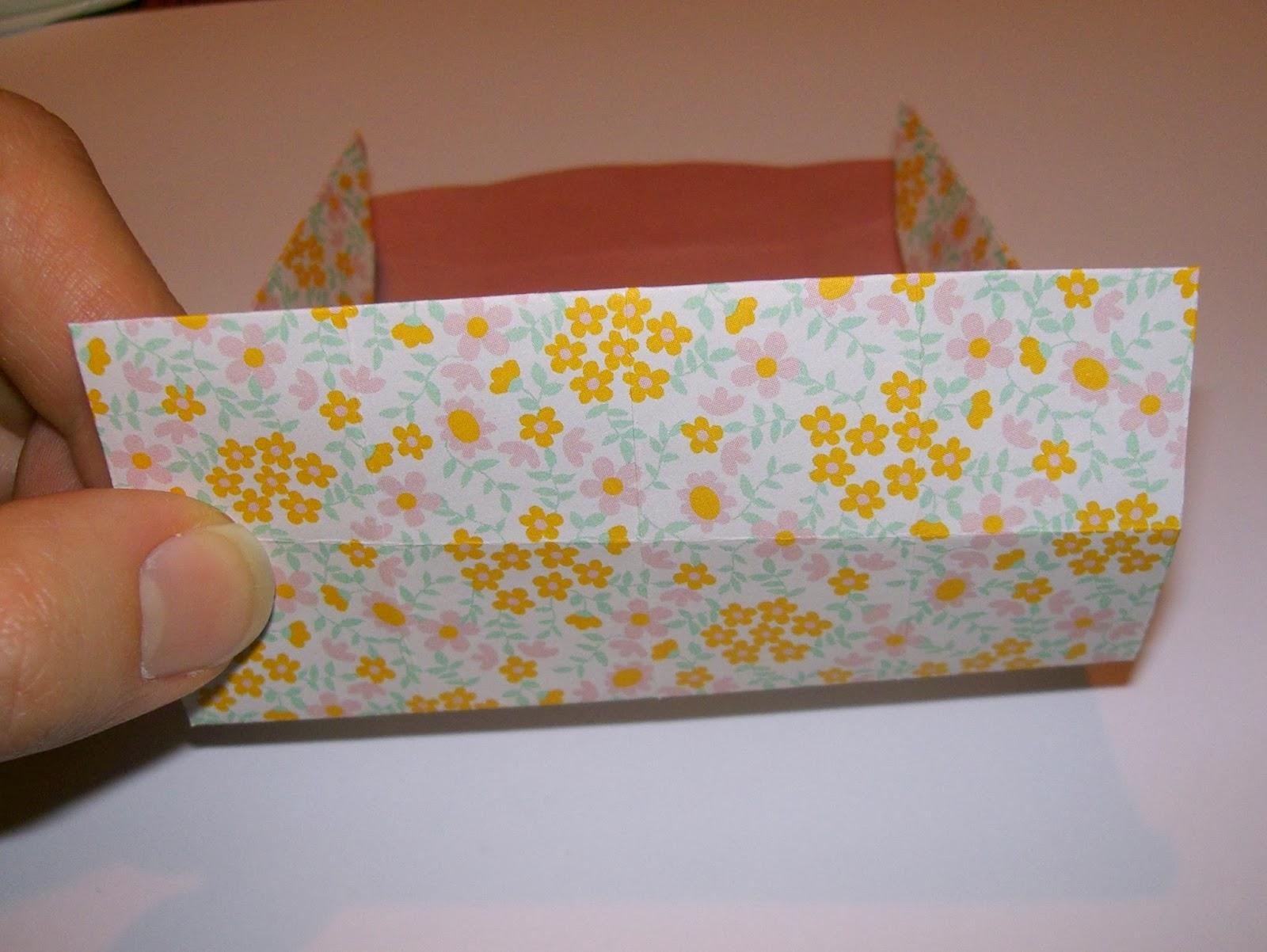 gabulle in wonderland: boîte cadeau en origami