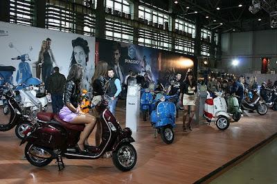 SMAEB 2011 vespa romanian motor exhibition