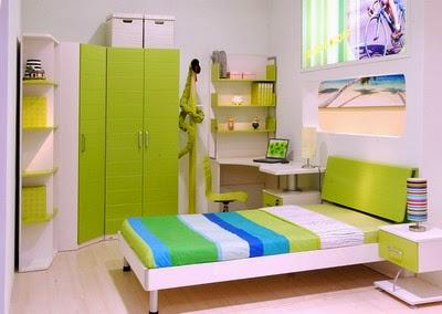 model desain kamar kost putri model rumah modern