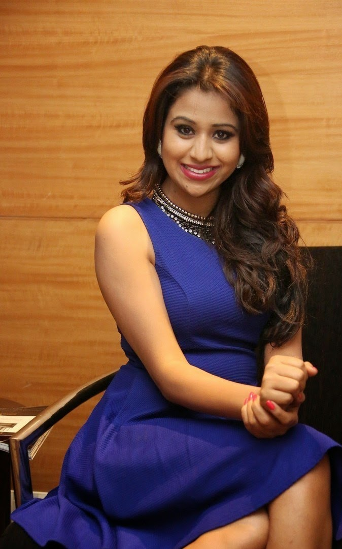 Manali Rathod In Blue Hot Dress New Photoshoot