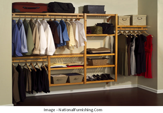 Organizing a Bedroom Closet Becomes Easy