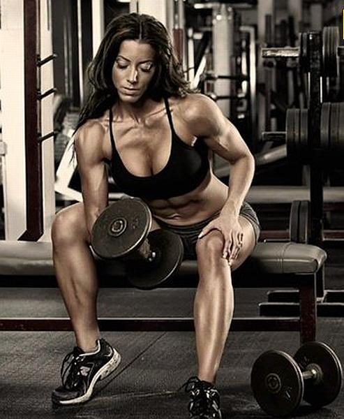 Julie Bonnett - WBFF Pro Fitness Model