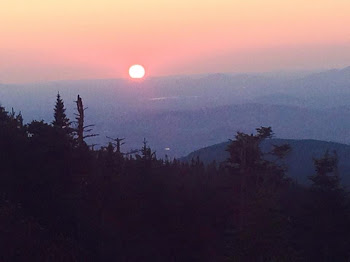 Tammy Enjoys Sunset at Whiteface