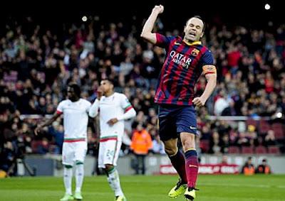 Xem lại đầy đủ trận Barcelona vs Granada
