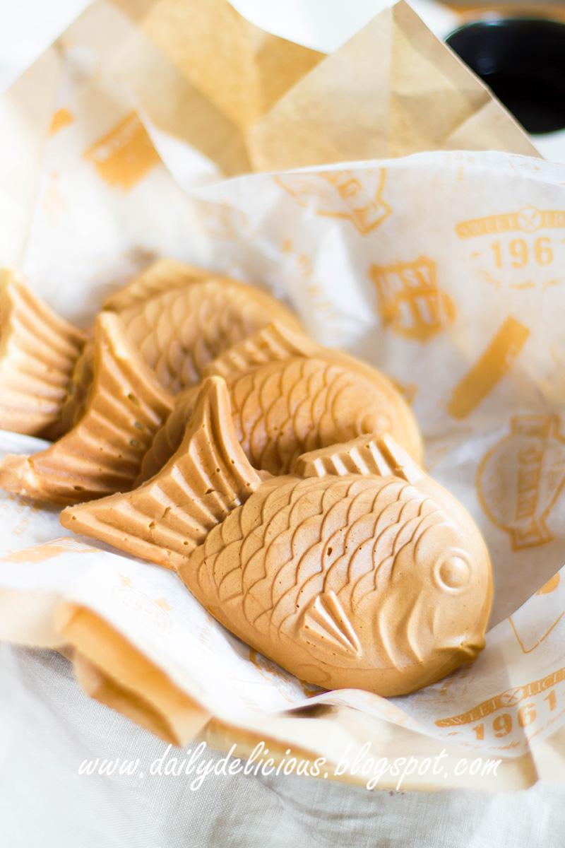 Taiyaki Fish Shaped Cake Maker