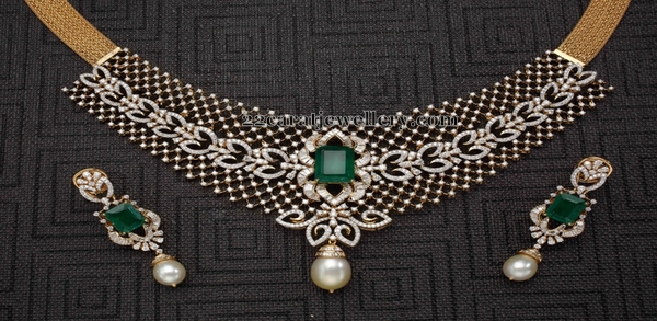 Fabulous Diamond Choker by Mangatrai
