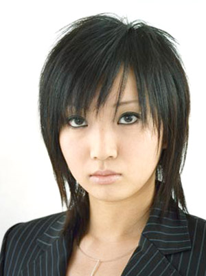 Asian Short Hairstyle Pictures 2011