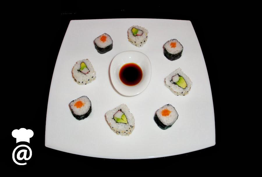 Recetas: Sushi Makis
