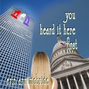 "My First Solo Novel, ""You Heard It Here First"""