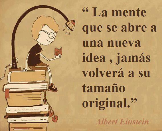 Para aprender a enseñar hay que aprender a aprender: Albert Einstein