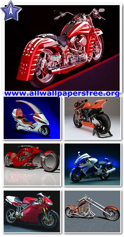 50 Great Motorcycles Wallpapers 1024 X 768 [Set 3]