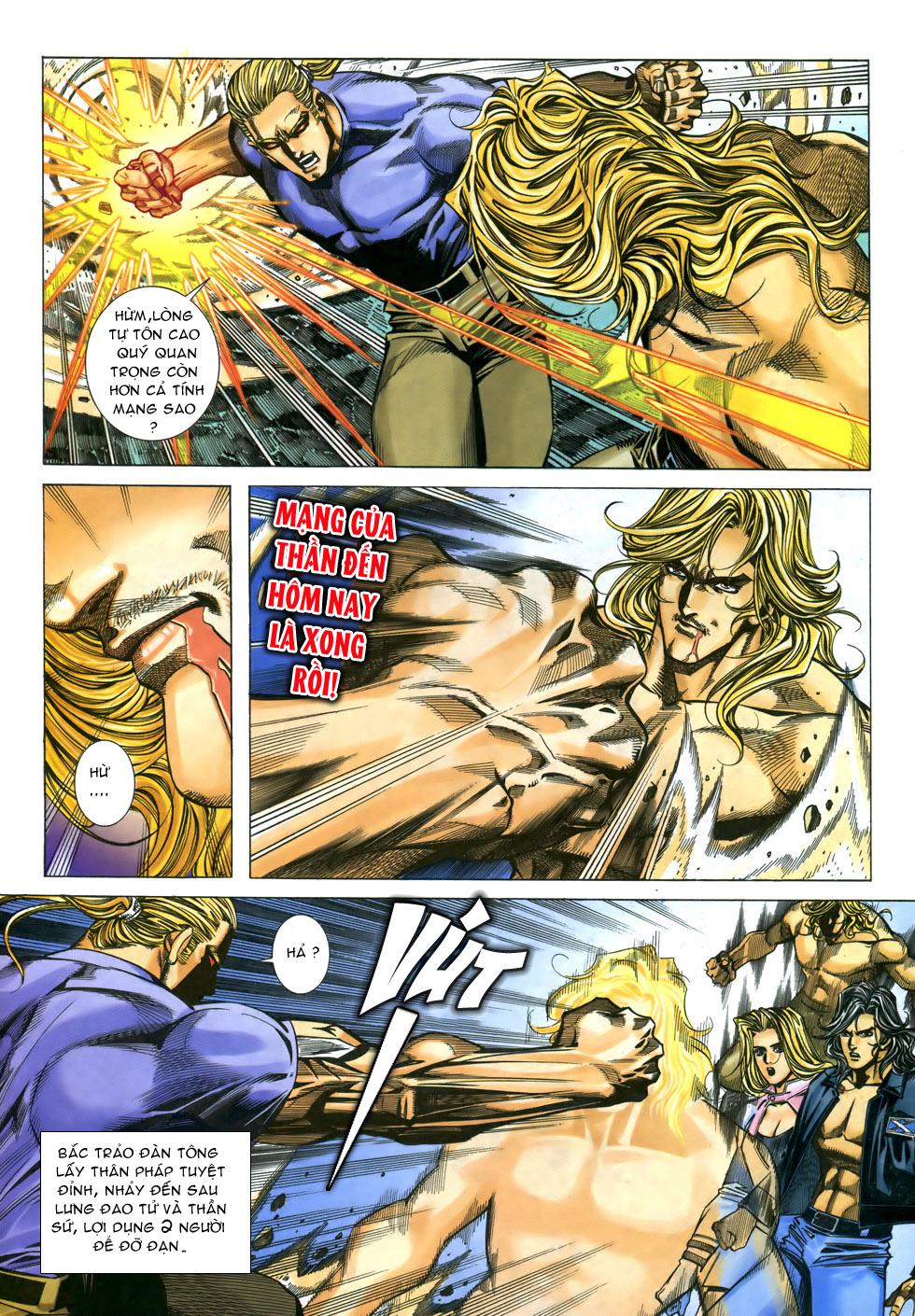 X Bạo Tộc chap 33 - Trang 6