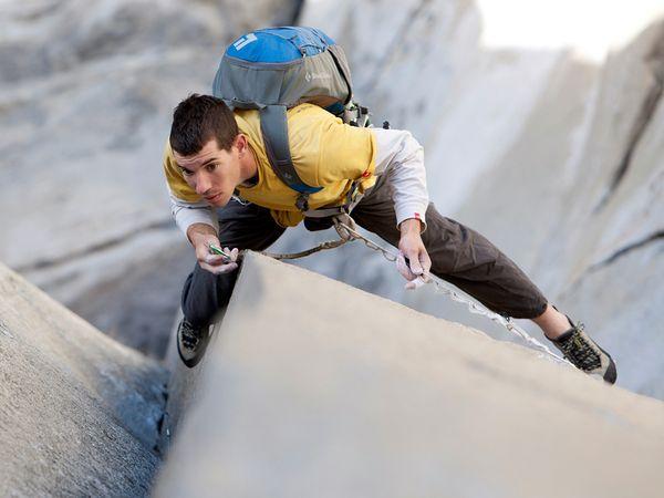 Alex Honnold Solo Climber