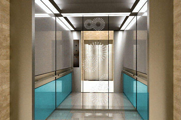 Elevator Cab Interior Design Project