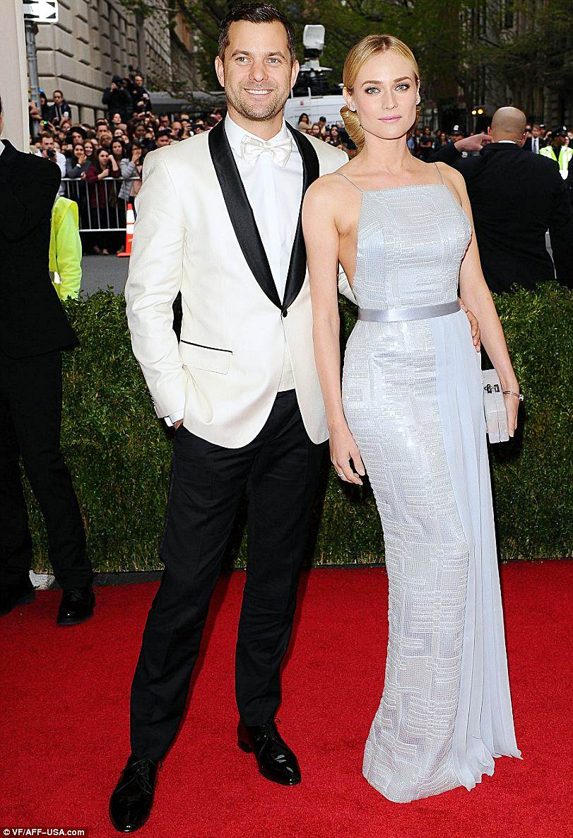 Fashionable Couples at the 2014 Met Gala Diane Kruger in Jason Wu for Hugo Boss and Joshua Jackson