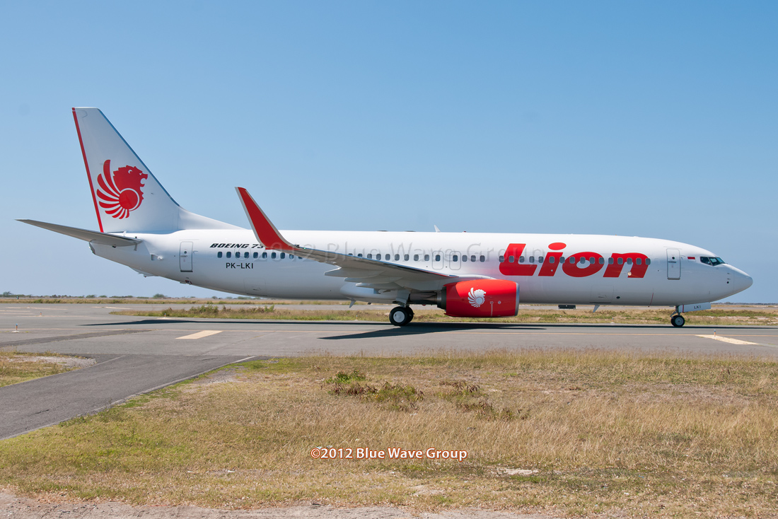 lion airlines is takin...