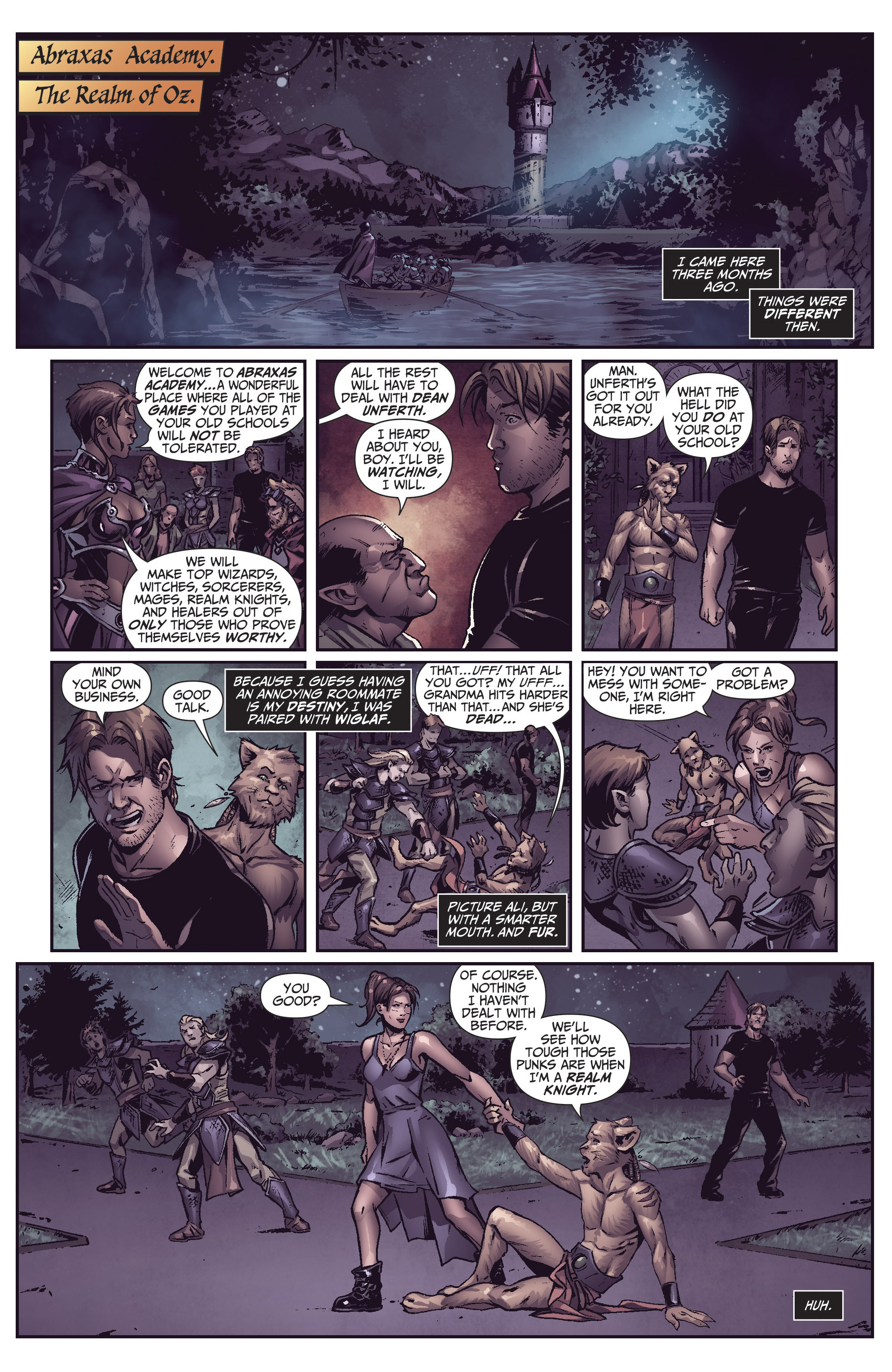 Grimm Fairy Tales (2005) Issue #109 #112 - English 6