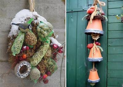 Zelf vetbollen voor vogels maken
