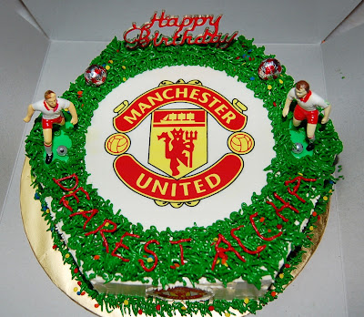 Mdv Elegant Delicacies Football Club Themed Cake