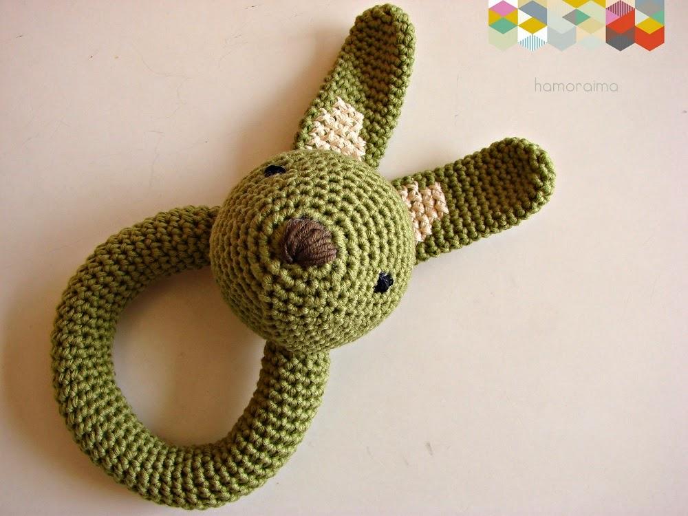 Sonajero de crochet • Patrón - hamoraima
