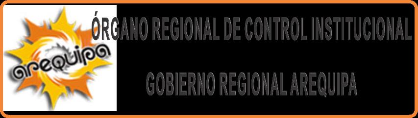 Órgano Regional de Control Institucional