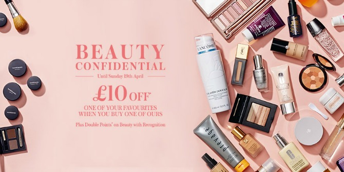The House of Fraser Beauty Confidential 2015