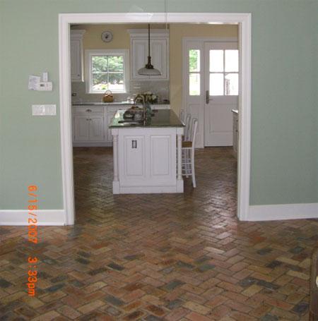 Brick Laminate Picture: Brick Floor Tile