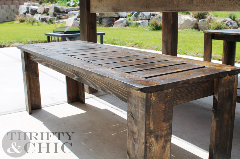 DIY Bench. Thrifty and Chic   DIY Projects and Home Decor