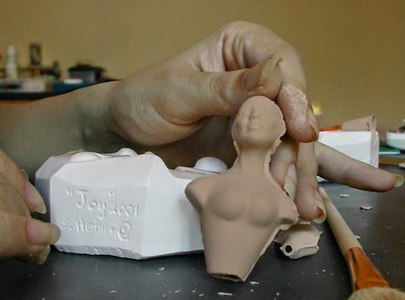 Куклы из гипса своими руками фото 1