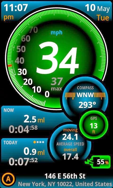 Aplikasi Cara Merubah Smartphone Android Menjadi Speedometer