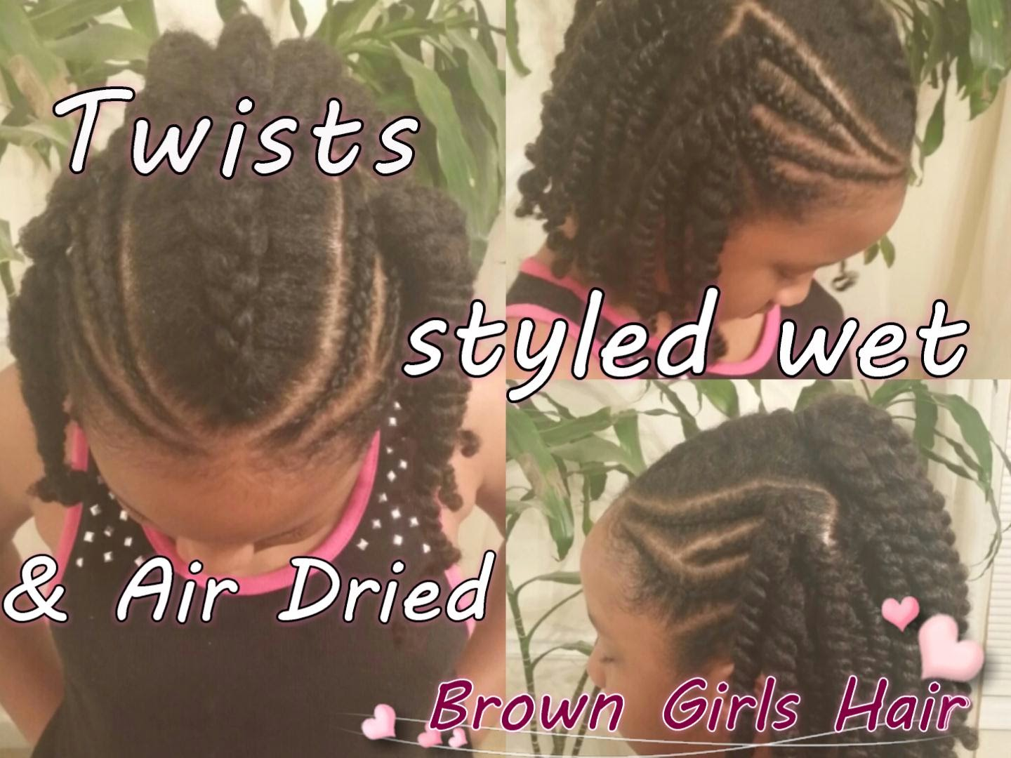 twists, braids, cornrows, kids braids, natural hairstyles, women, girls, tutorials