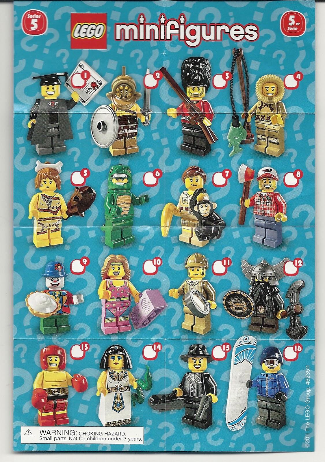 Lego Minifigures Snowboarder Lego Minifigure Series