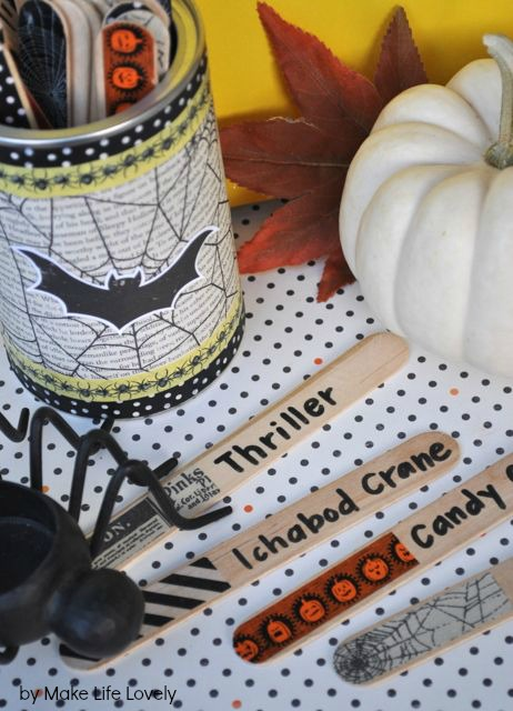 DIY Halloween Charades Game - Make Life Lovely