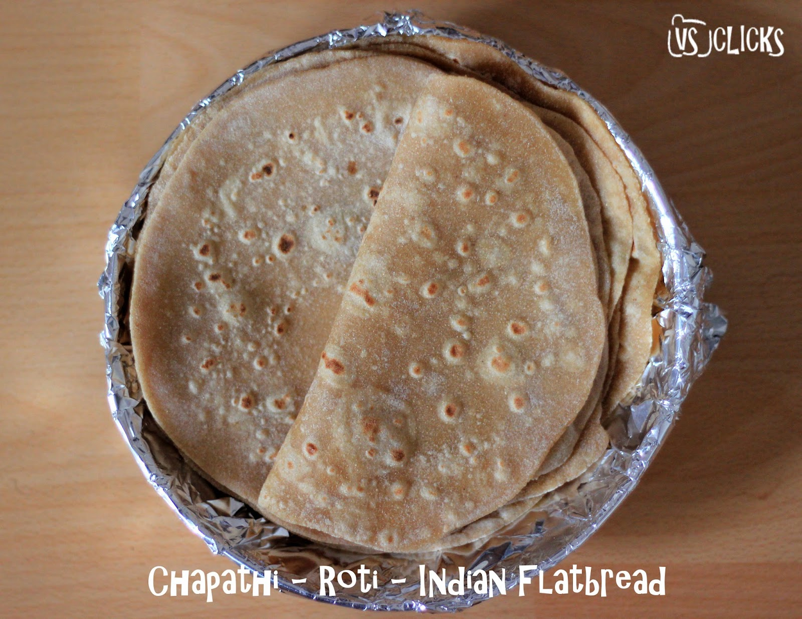 Chapathi Indian Flatbread