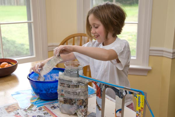 How To Make A Paper Mache Seal