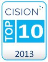 CISION TOP 10 UK MUM BLOG