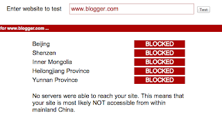 Blogger, censure, bloquer, blocked, bloqué, Chine,