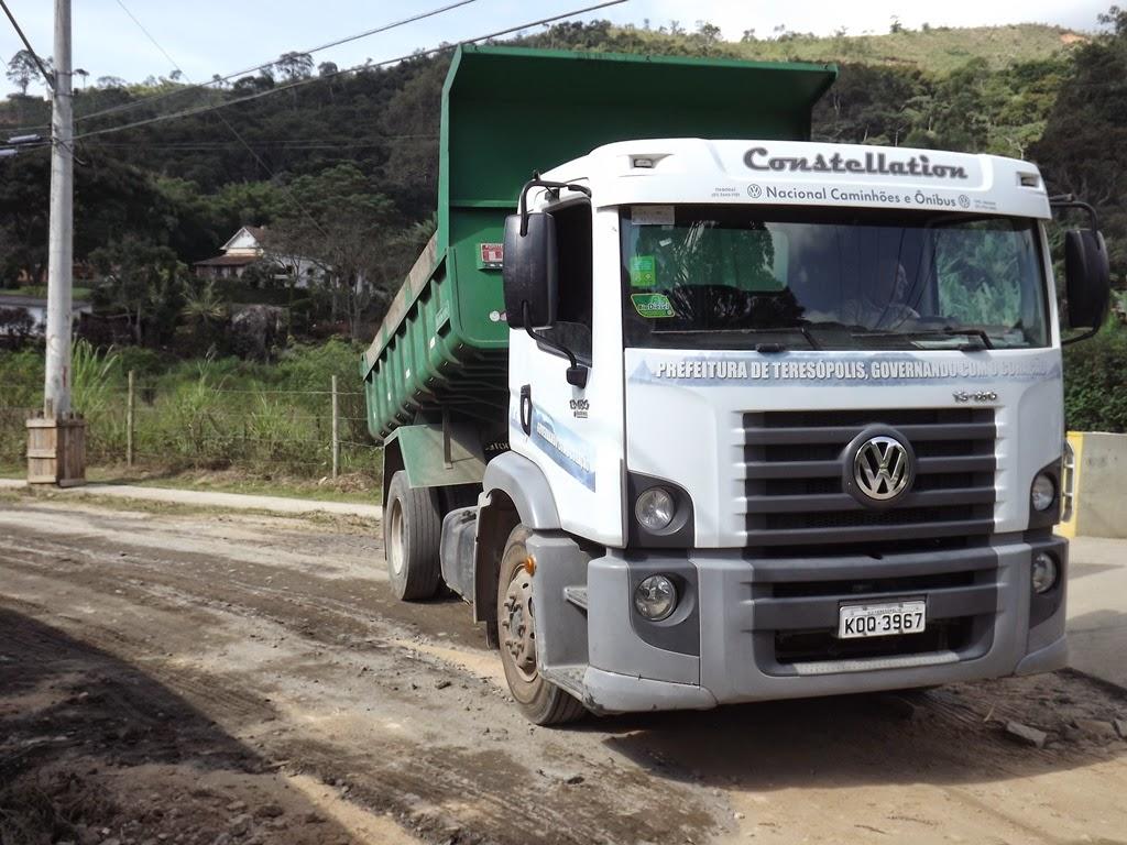 Moradores da Posse e Campo Grande tem melhorias em trecho da Estrada José Gomes da Costa - Posse Teresópolis RJ