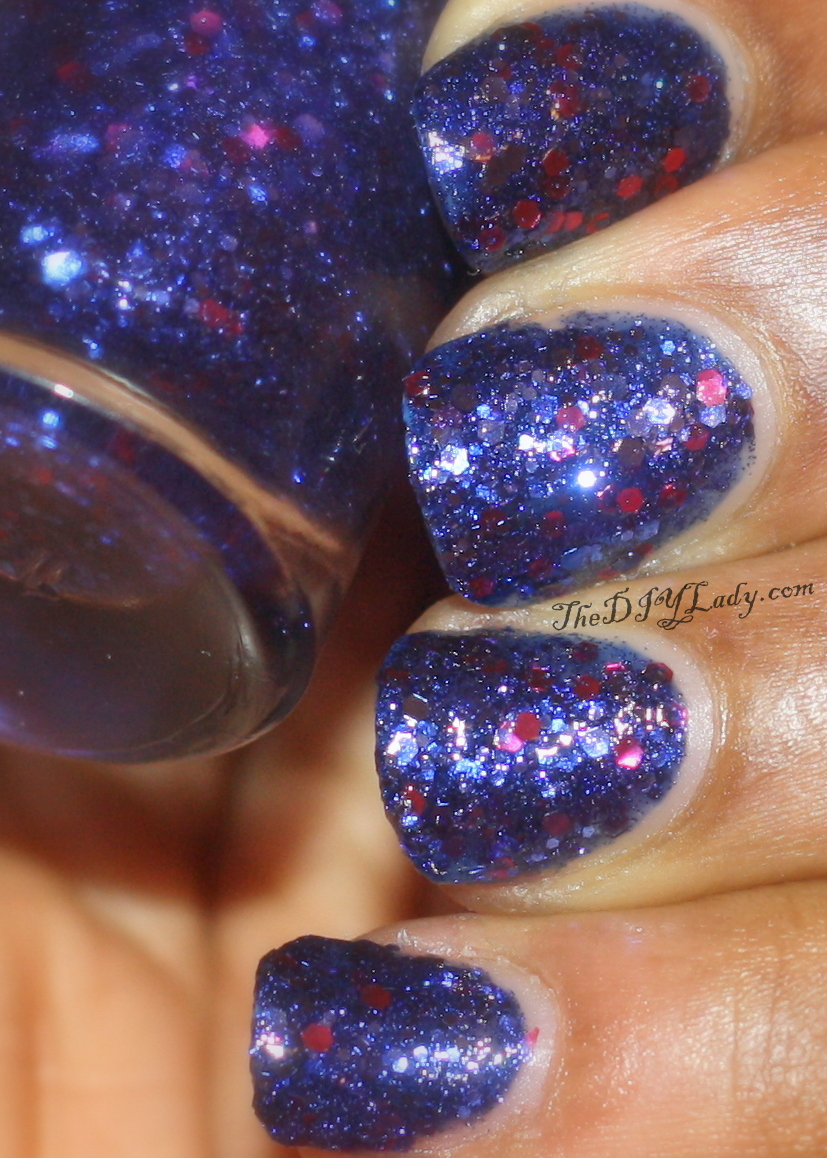 The Do It Yourself Lady: Swatches and Review: Maybelline - Sapphire ...