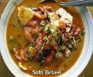 Resep dan Cara Membuat Soto Betawi