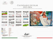 Calendario Escolar para Telesecundarias