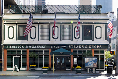 Bienstock and Wollensky is one of the names that graced this establishment for dining in New York