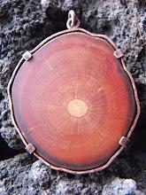 Colgante cobre envejecido, picoyo (235)