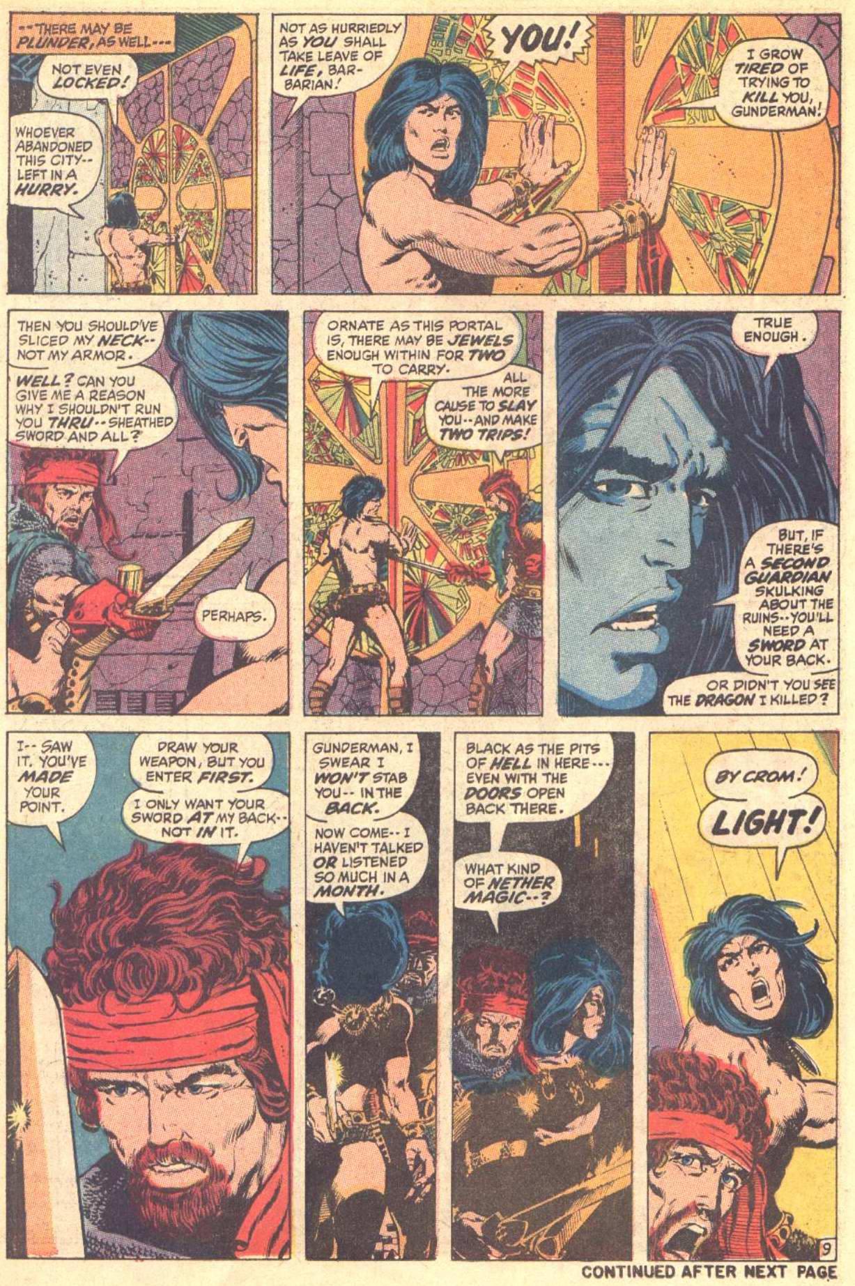 Conan the Barbarian (1970) Issue #8 #20 - English 10