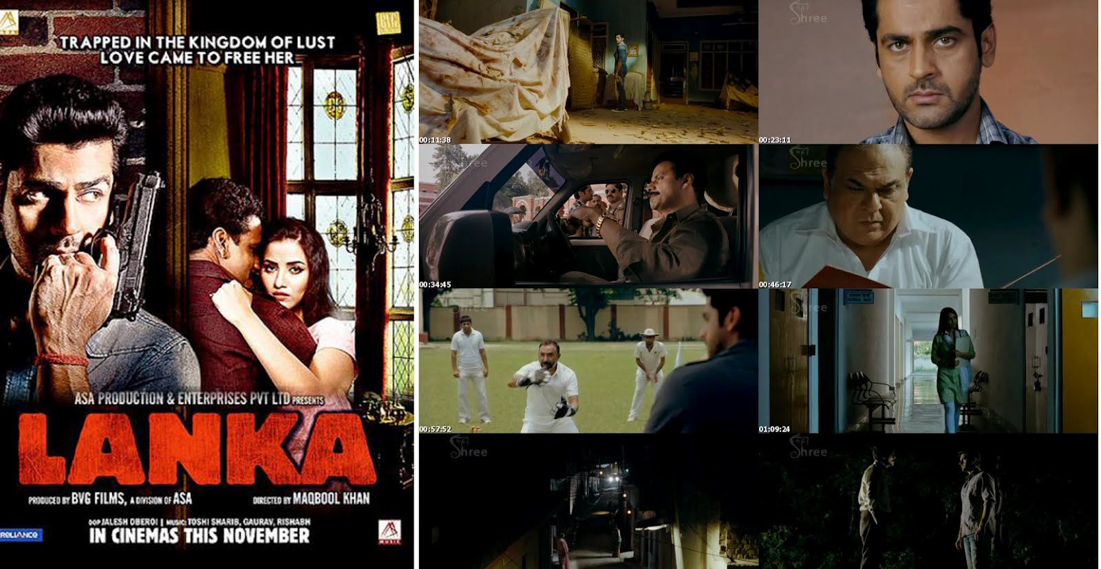 Lanka (2011) DvDRip 400MB Full Movie Download
